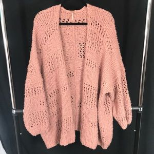 Cozy Free People Oversized Cardigan!